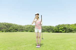 ゴルフの写真素材 [FYI04759051]