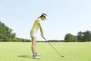 ゴルフの写真素材 [FYI04759059]