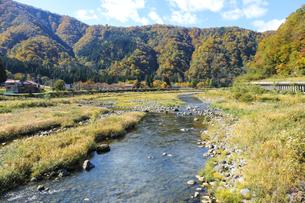 九頭竜川の景色の写真素材 [FYI04759582]