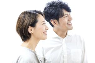 夫婦のポートレートの写真素材 [FYI04760053]