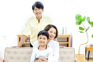 家族のポートレートの写真素材 [FYI04760696]