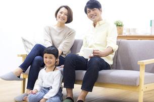 家族のポートレートの写真素材 [FYI04761595]
