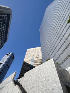 東京都 汐留の高層ビル街の写真素材 [FYI04761638]