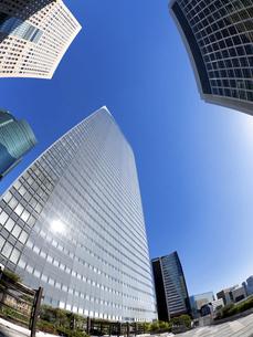 東京都 汐留の高層ビル街の写真素材 [FYI04761651]
