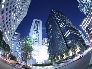 東京都 大手町のオフィスビル街の写真素材 [FYI04761808]