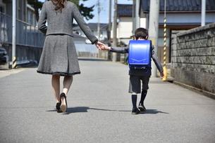 小学校の入学式の写真素材 [FYI04761843]