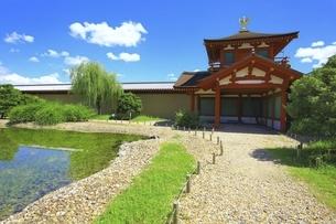 平城宮跡 東院庭園の写真素材 [FYI04761888]