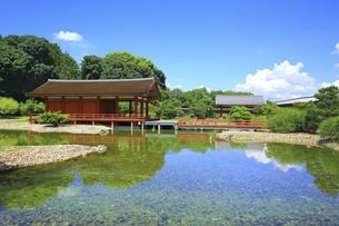 平城宮跡 東院庭園の写真素材 [FYI04761891]