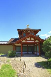 平城宮跡 東院庭園の写真素材 [FYI04761894]