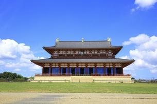 平城宮跡 大極殿の写真素材 [FYI04761899]