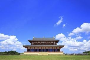 平城宮跡 大極殿の写真素材 [FYI04761900]
