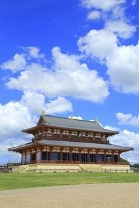 平城宮跡 大極殿の写真素材 [FYI04761906]