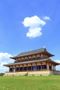 平城宮跡 大極殿の写真素材 [FYI04761910]