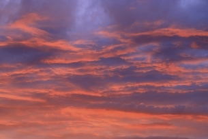 夕焼け雲の写真素材 [FYI04761913]