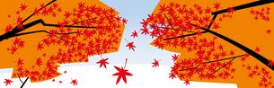 秋 背景 素材のイラスト素材 [FYI04762082]