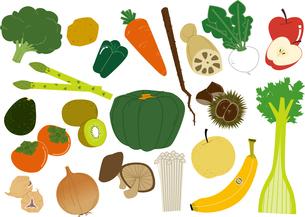 野菜 素材のイラスト素材 [FYI04762085]