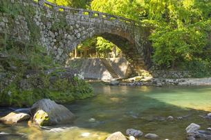 熊本県美里町の二俣橋の写真素材 [FYI04762349]