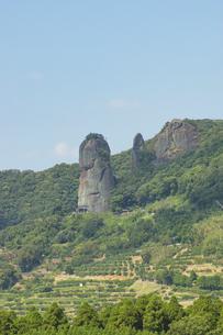 山鹿市の不動岩の写真素材 [FYI04762359]