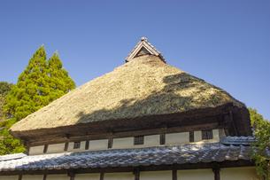 熊本県和水町の肥後民家村の写真素材 [FYI04762364]