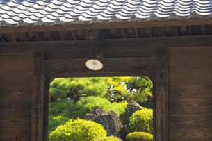 熊本県山鹿市の薬師堂の写真素材 [FYI04762377]
