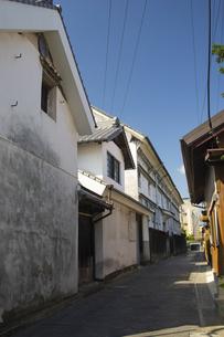 熊本県山鹿市のレトロな町並みの写真素材 [FYI04762399]