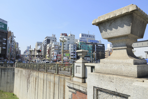 四谷見附橋の写真素材 [FYI04762429]