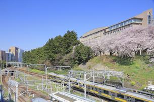 JR四谷駅の写真素材 [FYI04762447]