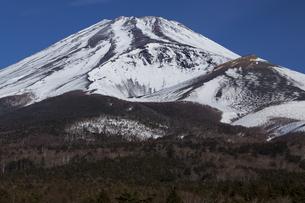 富士山宝永火口の写真素材 [FYI04762598]