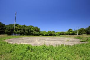 黒島のヘリポートの写真素材 [FYI04762816]