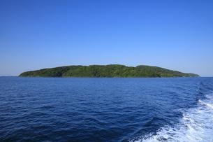 黒島の全景の写真素材 [FYI04762837]