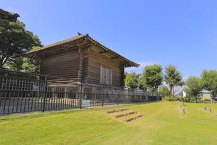 中宿古代倉庫群跡の写真素材 [FYI04763276]
