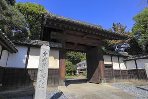 渋沢栄一生地(中の家)の写真素材 [FYI04763290]