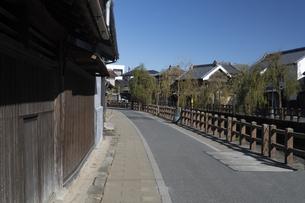 佐原の古い町並みの写真素材 [FYI04763762]