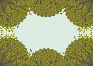 新緑と青空 イラストのイラスト素材 [FYI04763801]