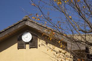阿蘇高森町旧上色見小学校の廃校後の写真素材 [FYI04764756]