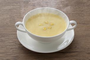 コーンスープの写真素材 [FYI04764788]