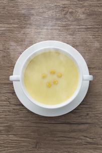 コーンスープの写真素材 [FYI04764789]
