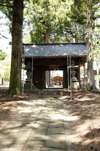 船形神社 (高根町長澤)の写真素材 [FYI04764902]