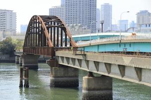 春海鉄道橋の写真素材 [FYI04765002]