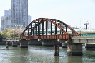 春海鉄道橋の写真素材 [FYI04765003]