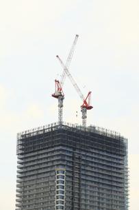 タワーマンション建設の写真素材 [FYI04765012]