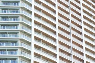 タワーマンション外壁の写真素材 [FYI04765016]