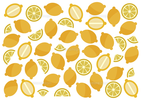 レモンの模様 イラストのイラスト素材 [FYI04765131]