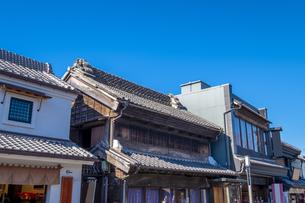 川越・蔵造りの町並みの写真素材 [FYI04765492]