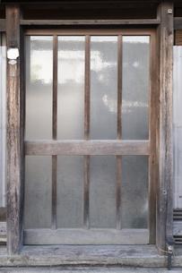 【日本】古民家の出入口イメージの写真素材 [FYI04765507]
