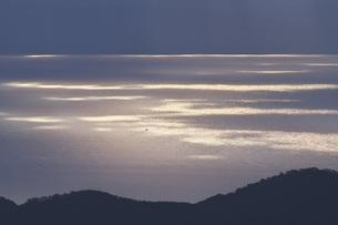 知床半島と国後島の朝の写真素材 [FYI04765811]