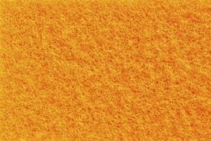 橙色のソフトクリーナーの表面の写真素材 [FYI04766276]