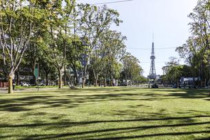 レイヤードヒサヤオオドオリパーク芝生広場風景の写真素材 [FYI04766723]