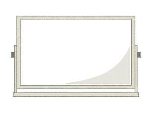 ホワイトボードのイラスト素材 [FYI04766816]