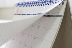 マンスリーカレンダーの写真素材 [FYI04766863]